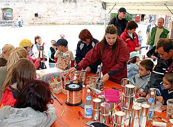 Kindermuseumstag auf Burg Abenberg